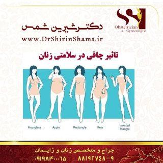 تاثیر چاقی در سلامتی زنان